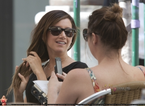 Ashley out in Madrid