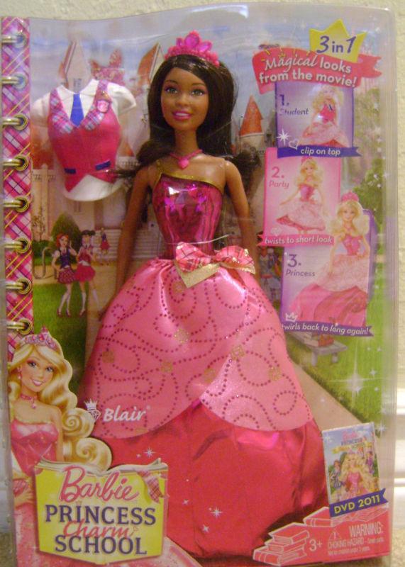 Barbie Princess Charm School- Blair (AA version) - barbie-movies photo