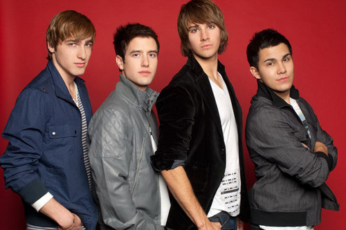 Big Time Rush at MTV