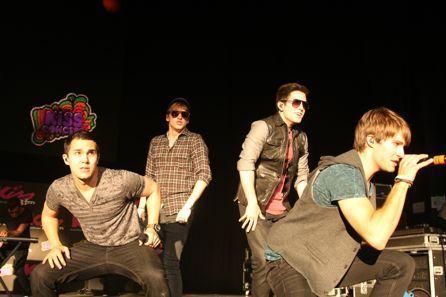 Big Time Rush rocks 키스 108's 키스 음악회, 콘서트 in Boston