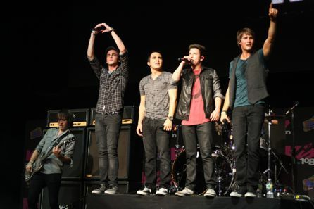 Big Time Rush rocks kiss 108's kiss show, concerto in Boston