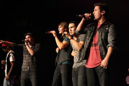 Big Time Rush rocks kiss 108's kiss concierto in Boston