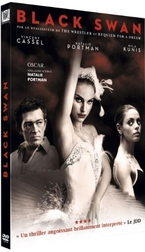 Black schwan DVD cover (limited edition)