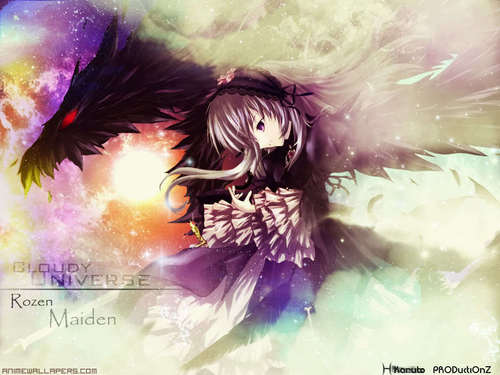 Nightcore wallpaper possibly containing a bouquet entitled Bring me to life-Nightcore