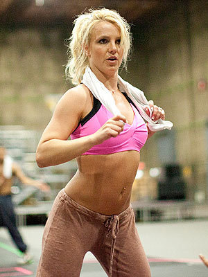 Britney - The Femme Fatale Tour Rehearsals 2011