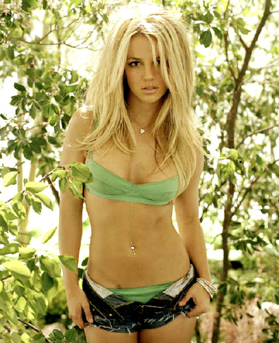 Britney -theme Green-