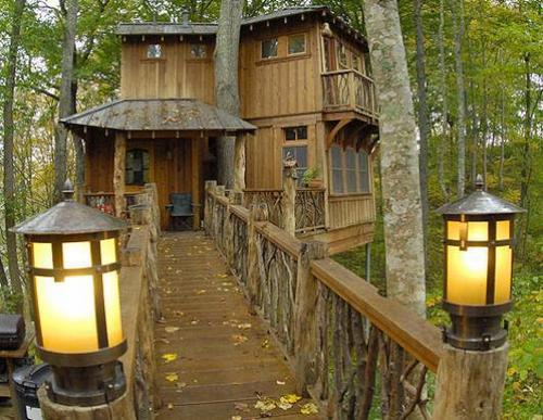COOL treehouse :)