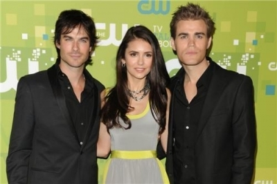 Cast @ 2011 CW Upfronts in NYC
