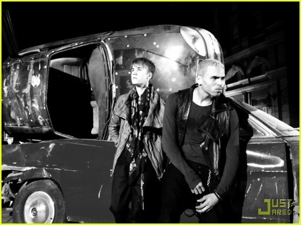 Chris Brown: 'Next 2 You' Video Shoot with Justin Bieber! - chris-brown photo