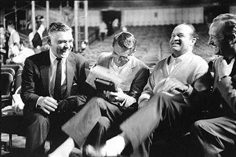 Clark Gable,Cary Grant,Bob Hope And David Niven