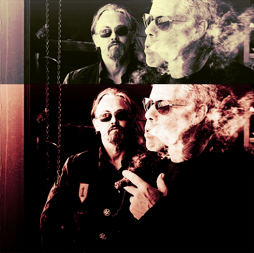 Clay and Chibs