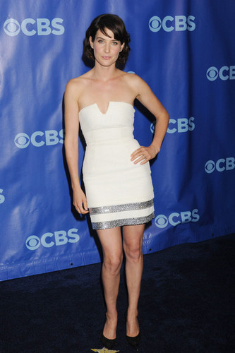 Cobie @ CBS Upfront 2011