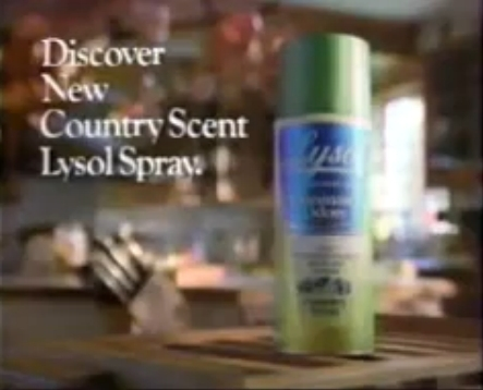 Country Scent Lysol Spray
