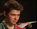 Damian serious face