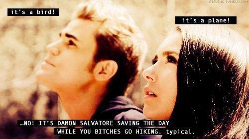 Damon Saves the Tag again.