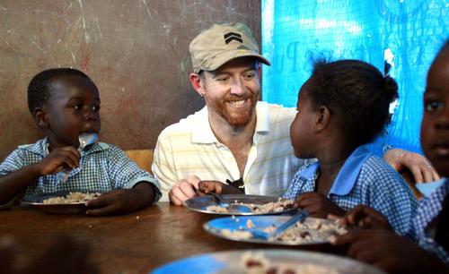 Dave in Haiti.