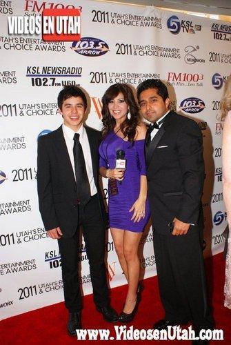 David at Utah's Entertainment and Choice Awards :)