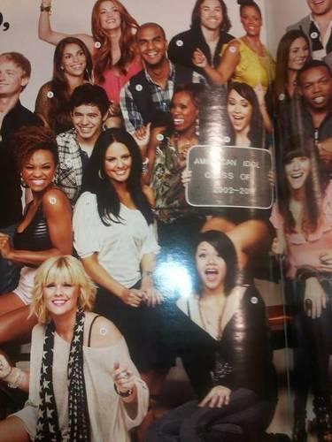 David in American Idol Reunion photoshoot :)