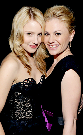 Dianna Agron and Anna Paquin