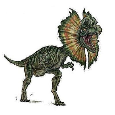 Dinosaurs wallpaper with a triceratops called Dilophosaurus