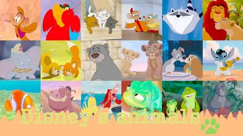Disney animaux