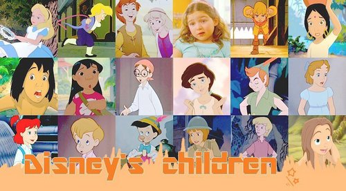 Disney achtergrond entitled Disney kids
