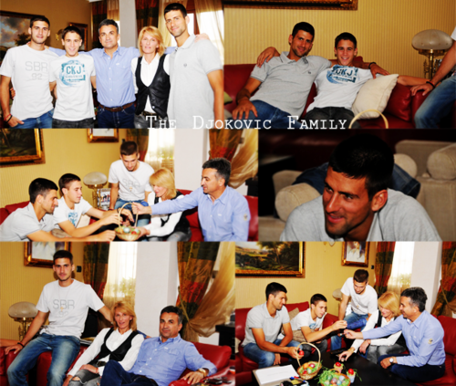 Djokovic Family!! (Love Everyfing Bout The Serbernator) 100% Real ♥