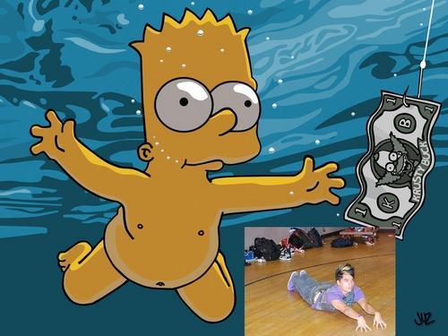 Dominic Swimming