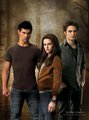 Edward, Bella&Jacob - twilight-series photo