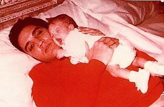 Elvis and baby lisa (cute)