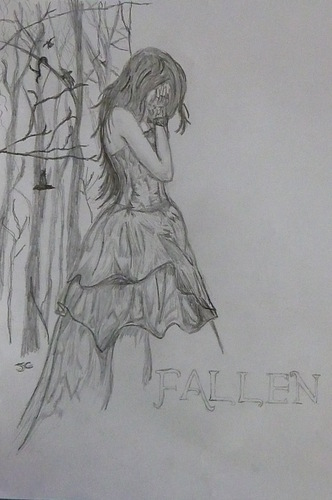 Fallen front cover