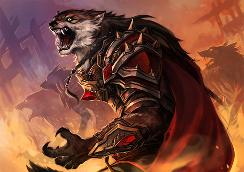 幻想 Werewolf