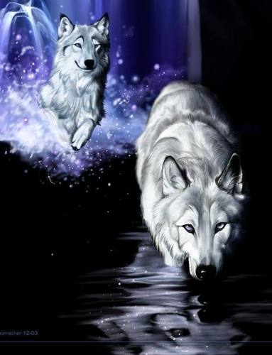 fantaisie Người sói