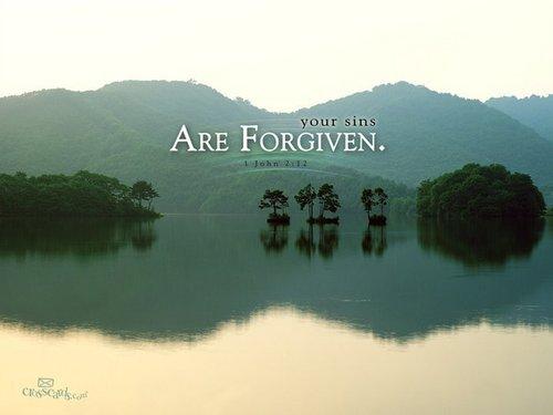 Forgiven sins... <3