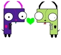 GIR and ROR - gir fan art