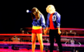 Glee Live Tour 2011 Las Vegas - lea-michele-and-dianna-agron photo