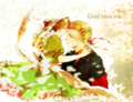God bless you~ - hetalia-gerita fan art