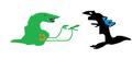 Godzilla Vs Biollante art