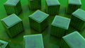 Green objects - green wallpaper