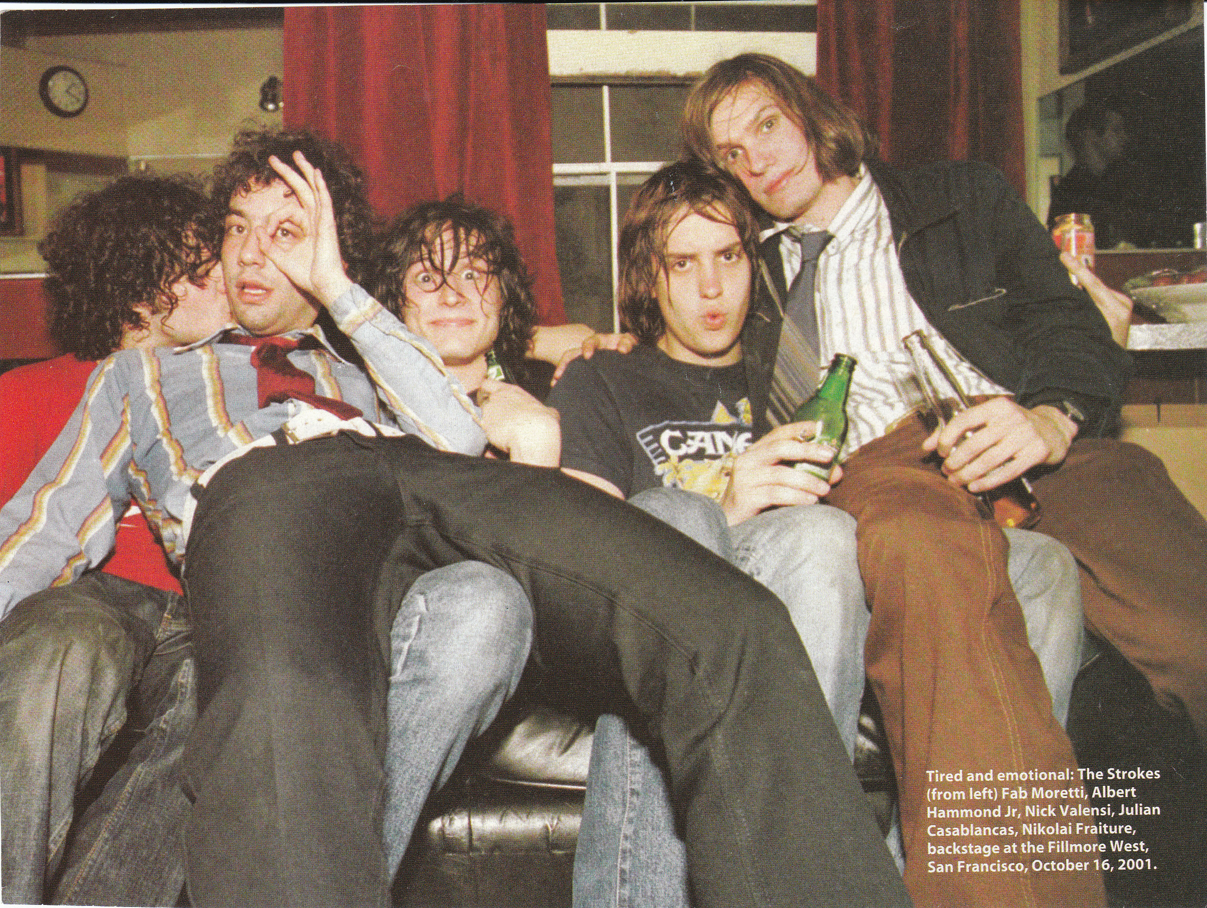 Group Shot The Strokes Photo 22288368 Fanpop