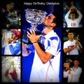 Happy 24th Birthday Champion!! (Love Everyfing Bout The Serbernator) 100% Real ♥  - novak-djokovic fan art