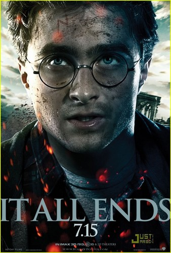Harry Potter & The Deathly Hallows Part II' Poster!!!
