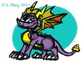 Have a Spyro - spyro-the-dragon fan art