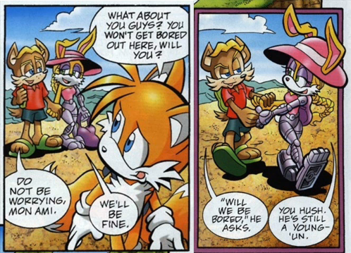 Hidden Sex Talk in Sonic Universe