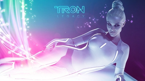 Hot Gem wallpaper - TRON (by Danny Bee)