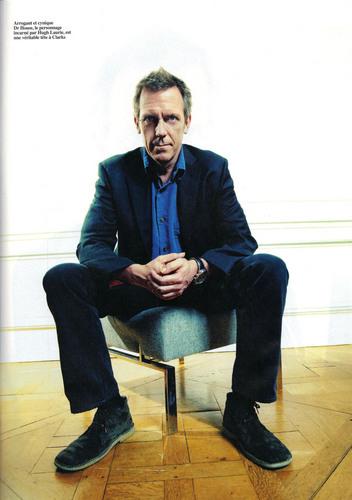 Hugh Laurie- Magazine Rock & Folk- june 2011 (France)