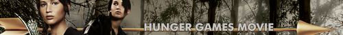 Hunger Games movie banner