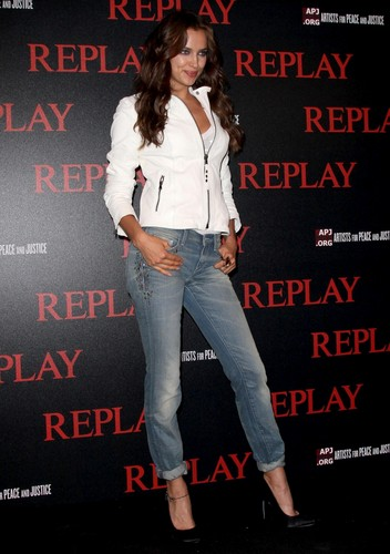 Irina Shayk – Replay Party in Cannes
