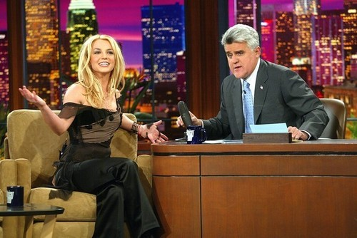 Britney Spears and jay Leno