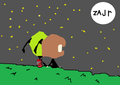 Jen and Zim - invader-zim-fanfics fan art